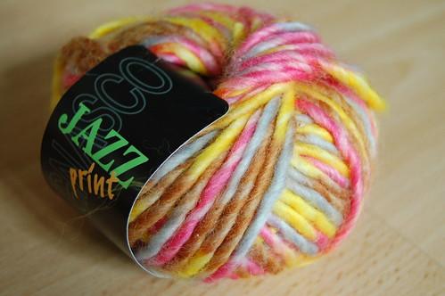 Jazz print yarn