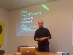 Geoweb Talk by Cedric