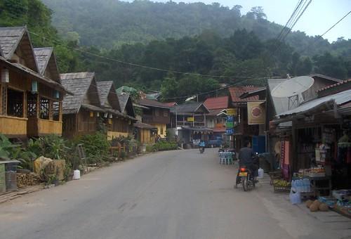 PakBeng. Laos