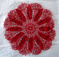 Ripe Wheat Doily 01