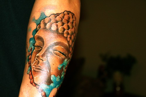 Buddha Ganesha Tattoo 4(2)