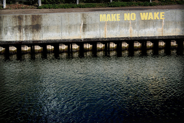Make no Wake