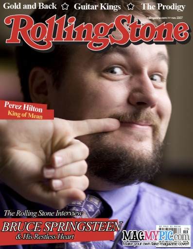 I'm on the cover of Rolling Stone!