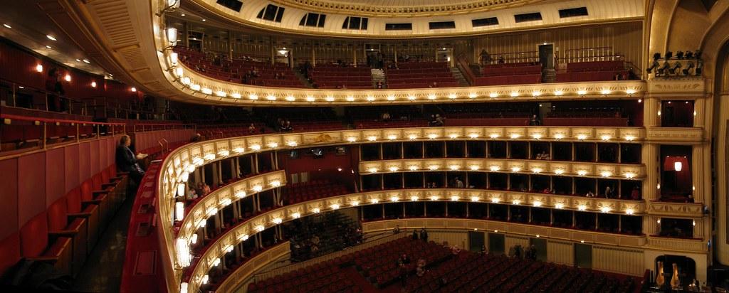 Inside Staatsoper, State Opera House