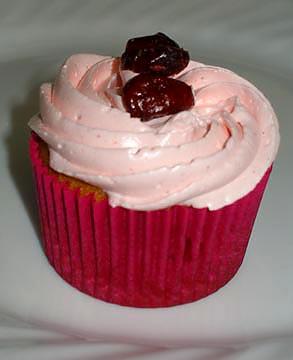PumpCran Cupcake