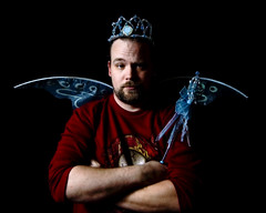 My Other Job (Cayusa) Tags: selfportrait tiara self wings wand bart 365 chiaroscuro toothfairy week46 cwd day333 365days interestingness94 explored i500 crowningglory 365explored tacwd takeaclasswithdavedave tacwdd cwdexplore flickrgrouproulette explore14nov07 cwdrs daythreehundredandthirtythree 365333 365day333 cwdweek46 cwd461 cwdrs46