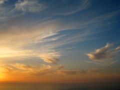 cos gli dettero fuoco (xNstAbLe) Tags: blue sunset sky orange bird fire tramonto blu agadir morocco cielo marocco arancio fuoco arancione 10faves tamrhakht