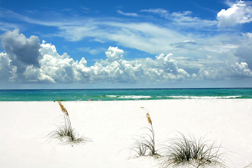Beach in Destin