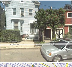 Our house on Street View
