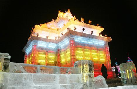 Chinese ice sculpture2