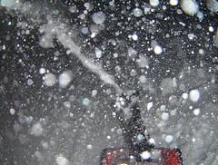 Christmas Blows (Funkomaticphototron) Tags: christmas winter red snow minnesota night blurry wind driveway snowing flakes mn toro crappy throwing snowblower woodbury whatdoyouwant coryq yesididthisonpurpose nothinglikeaharddrivehometothenarriveanddochores remindsmeofasnowglobe 3taw44 coryfunk