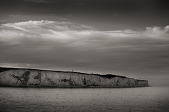 Glowing white cliffs of Dover (paul indigo) Tags: landscape evening glow cliffs dover