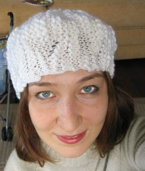 urchin hat, hat, knitty, knitty.com, free knitting patterns, free knitting hat pattern, ysolda, alize yarn, barbados yarn, turkish yarn, gauge