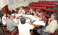 Concejales en el Salón Blanco