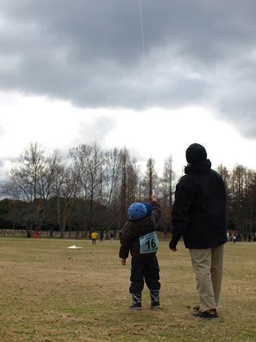 A kite-flier