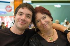 Me and my mum (Mister Rad) Tags: me airport australia nikond50 mum perth westernaustralia takenbysomeoneelse af35mmf2d