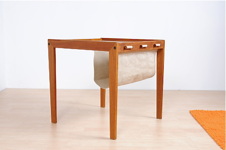 Magazine End Table By Bent Silberg 171 The Mid Century Modernist