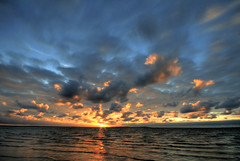 neverland (crazyhorse_mk) Tags: ocean sunset sea sky sun beach nature clouds germany tide northsea neverland nordsee soundtrack foehr marillion wattenmeer sigma1020 utersum soundtracked 400d klaiber