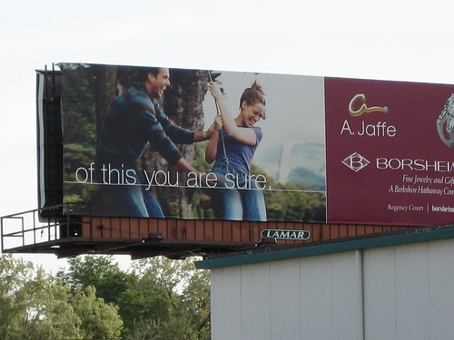 Borsheim's billboard in Omaha