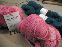 Malabrigo and Lorna's Laces