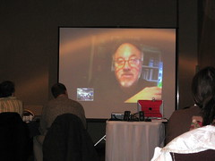 Me presenting through Skype to educators in Canada