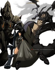 Trinity (P-Shinobi) Tags: anime art photoshop drawing manga