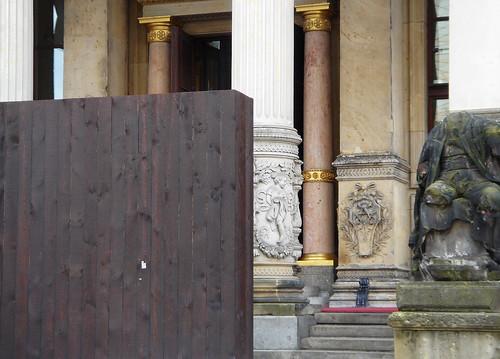 blockierter Eingang
