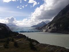 Torres del Paine - trek - glacier Grey
