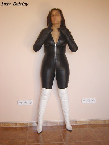Mature ladies in leather catsuits galleries