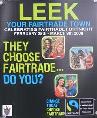 Leek Fairtrade Town
