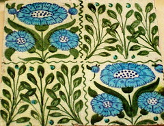 Tile - William De Morgan (Kotomi_) Tags: museum tile decorative object pottery historical british britishmuseum period artsandcraft williamdemorgan