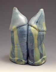 Blue Oil and Vinegar (shadowpottery) Tags: oilandvinegar