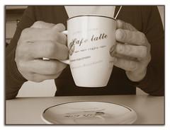 Autorretrato con café o Mi momento