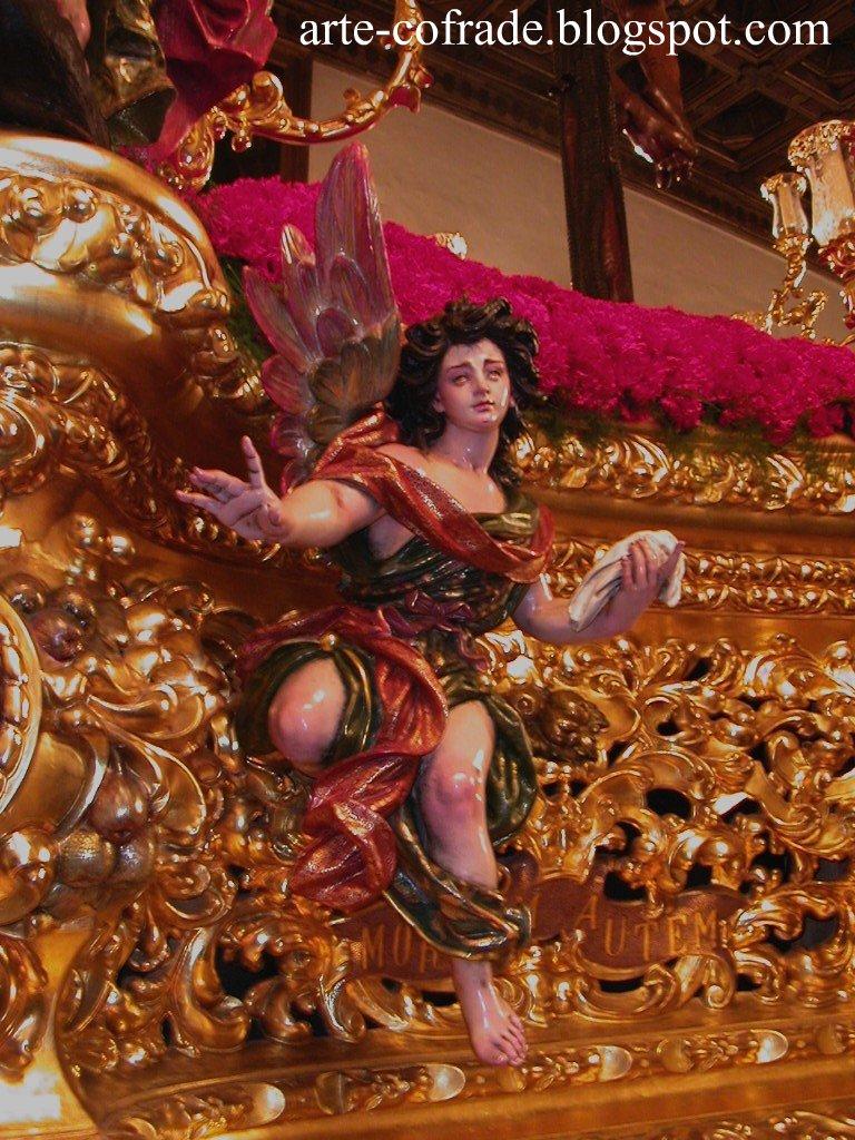 Angel del paso del Cristo de la Expiración.