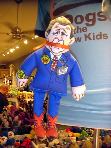 Bush gagged