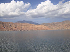 manmade lake (onetimesly) Tags: tibet amdo manmadelake easterntibet qinghaiprovince