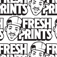 Fresh Prints (Kyle J. Letendre) Tags: will smith lettering handlettering brandcustomtype branding custom type typography showcard show card shocard sho dimensional fresh prints prince belair big willie style