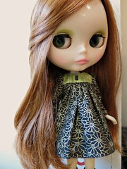 February 13, 2017 - Blythe a Day - Print or Paisley