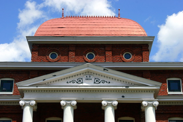 Old Ashe County Courthouse - Jefferson, NC (Architectural Detail)