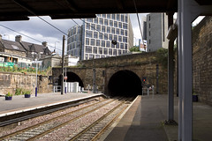 Distant View From Haymarket Station