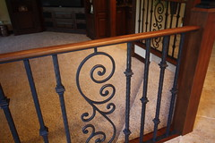 Handforged Iron Railing