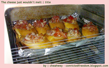 Bruschetta-Baking-in-Oven