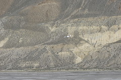Plane landing in Jomsom, Mustang (Jomosom, , Nepal) Photo