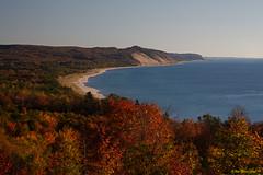 Benzie County Coastal Color (John Clement Howe) Tags: autumn fall michigan lakemichigan benziecounty greenpointpreserve