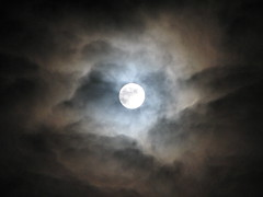 October 25th Cloudy Moonlight