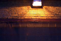 pass that Bottle to Me (swanksalot) Tags: lighting light wall 50mm alley naturallight evanston swanksalot sethanderson
