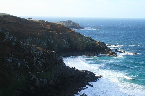 a view from the cliffs below Zennor