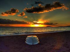 Evimizin n... (Nejdet Duzen) Tags: sunset cloud beach topf25 turkey boat topf50 topf75 trkiye sandal breathtaking bulut gnbatm goldenglobe ortaky plaj amazingtalent zdere flickrsbest mywinners anawesomeshot aplusphoto infinestyle favemegroup3 diamondclassphotographer colourartaward thegardenofzen thegoldendreams lesamisdupetitprince