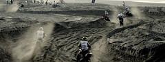 Another one bites the dust (Paul Vaarkamp) Tags: holland sand scheveningen bikes dirtbike fujis6500fd redbullknockout
