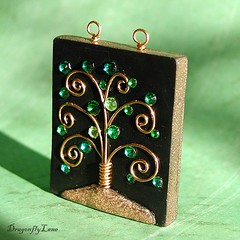 Green Jeweled Tree